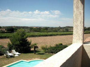 gite carcassonne gite 1 vue balcon